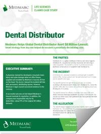 Claims Case Study Dental Distributor